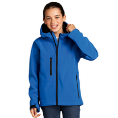 Kids Replay Hooded Soft Shell Jacket Coat (46603)